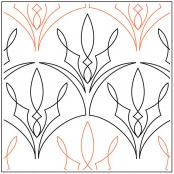 Cable-Clamshell-quilting-pantograph-pattern-Jessica-Schick