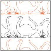 Dinosaurs-on-Parade-quilting-pantograph-pattern-Jessica-Schick-1