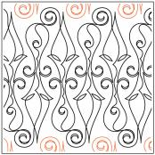 Gothic-Ironwork-quilting-pantograph-pattern-Jessica-Schick