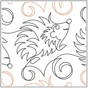 Hedley-the-Hedgehog-quilting-pantograph-pattern-Jessica-Schick