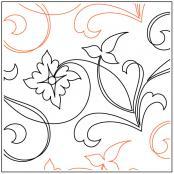 Jessicas-Folkart-Flower-quilting-pantograph-pattern-Jessica-Schick