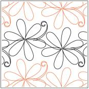 Simple-Daisy-quilting-pantograph-pattern-Jessica-Schick