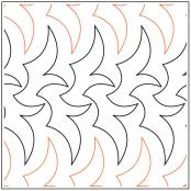 Tribal-Braid-quilting-pantograph-pattern-Jessica-Schick