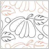 Jessica's Pumpkin Patch quilting pantograph pattern by Jessica Schick