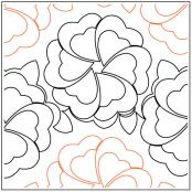 Flower-Bed-quilting-pantograph-pattern-Keryn-Emmerson