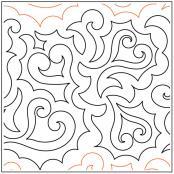 Kiss-Curls-quilting-pantograph-pattern-Keryn-Emmerson
