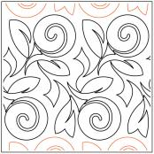Lollipop-Rose-quilting-pantograph-pattern-Keryn-Emmerson