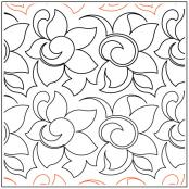 Mountain-Flower-quilting-pantograph-pattern-Keryn-Emmerson