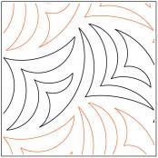 Razorshell-quilting-pantograph-pattern-Keryn-Emmerson