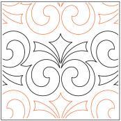 Ritz-quilting-pantograph-pattern-Keryn-Emmerson