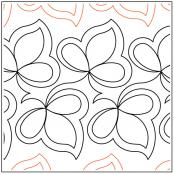 Tea-Leaves-quilting-pantograph-pattern-Keryn-Emmerson