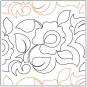 Winter-Rose-quilting-pantograph-pattern-Keryn-Emmerson