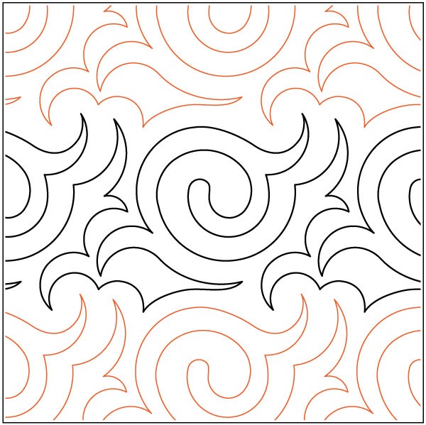 Gothic-quilting-pantograph-pattern-Keryn-Emmerson