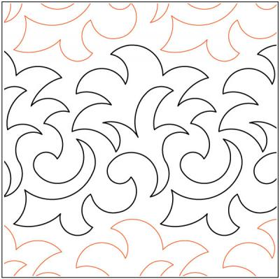 China-Grove-quilting-pantograph-pattern-Keryn-Emmerson