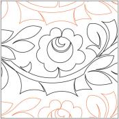 China-Rose-quilting-pantograph-pattern-Keryn-Emmerson