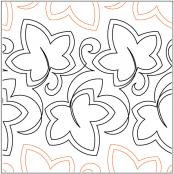 Filigree-Leaves-quilting-pantograph-pattern-Keryn-Emmerson