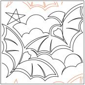 Gotham quilting pantograph pattern by Keryn Emmerson