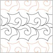 Kelpie-quilting-pantograph-pattern-Keryn-Emmerson