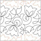Keryns-Bellflower-quilting-pantograph-pattern-Keryn-Emmerson