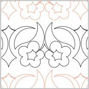 Keryns-Buttercup-quilting-pantograph-pattern-Keryn-Emmerson