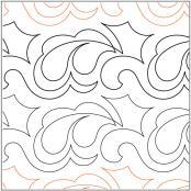 Keryns-Crest-quilting-pantograph-pattern-Keryn-Emmerson