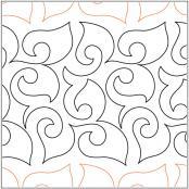 Leaves-etc-quilting-pantograph-pattern-Keryn-Emmerson