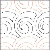 Little-Shell-quilting-pantograph-pattern-Keryn-Emmerson