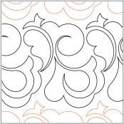 Princess-quilting-pantograph-pattern-Keryn-Emmerson