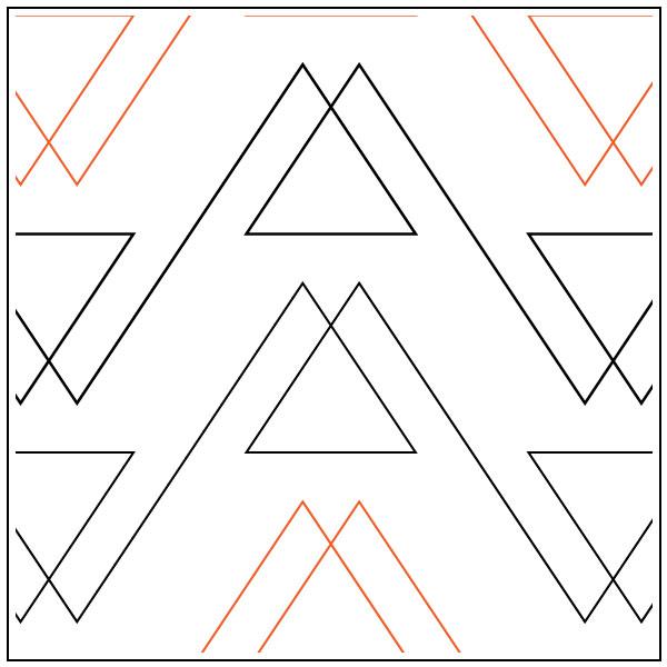 Fort-quilting-pantograph-pattern-Leisha-Farnsworth