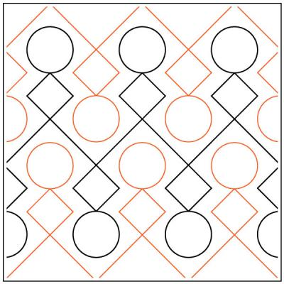 INVENTORY REDUCTION...Hopscotch pantograph pattern by Leisha Farnsworth