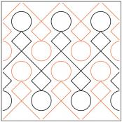 Hopscotch pantograph pattern by Leisha Farnsworth