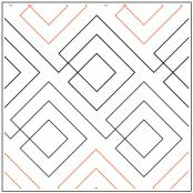 Squared pantograph pattern by Leisha Farnsworth