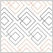 INVENTORY REDUCTION...Squared pantograph pattern by Leisha Farnsworth 2
