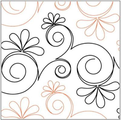 Chantilly pantograph pattern by Patricia Ritter & Leisha Farnsworth