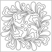 Chateau-Block-1-quilting-pantograph-pattern-Leisha-Farnsworth