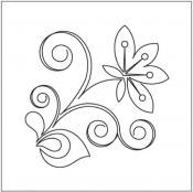 Floret-Motif-quilting-pantograph-pattern-Leisha-Farnsworth