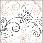Floret-quilting-pantograph-pattern-Leisha-Farnsworth