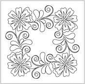 Flowering-Plum-Block-4-quilting-pantograph-pattern-Leisha-Farnsworth