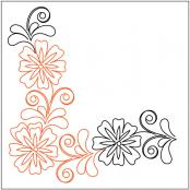 Flowering-Plum-Petite-Corner-quilting-pantograph-pattern-Leisha-Farnsworth-1