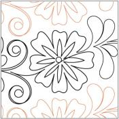 Flowering-Plum-Petite-quilting-pantograph-pattern-Leisha-Farnsworth