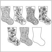 Home-for-the-holidays-SET-3-quilting-pantograph-pattern-Leisha-Farnsworth-1