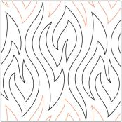 Kindling pantograph pattern by Patricia Ritter & Leisha Farnsworth