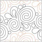 Marmalade pantograph pattern by Patricia Ritter & Leisha Farnsworth
