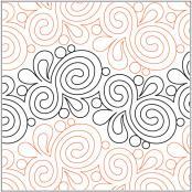 Marmalade pantograph pattern by Patricia Ritter & Leisha Farnsworth 2