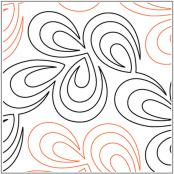 Opal-quilting-pantograph-pattern-Leisha-Farnsworth