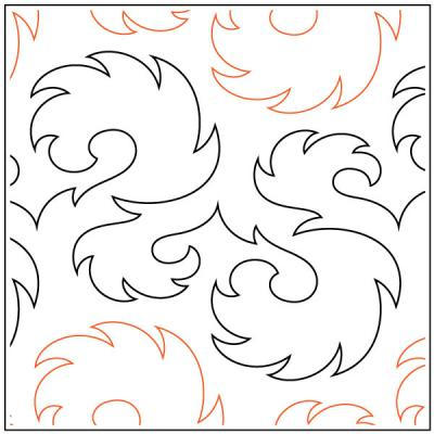Aroma-quilting-pantograph-sewing-pattern-Lorien-Quilting