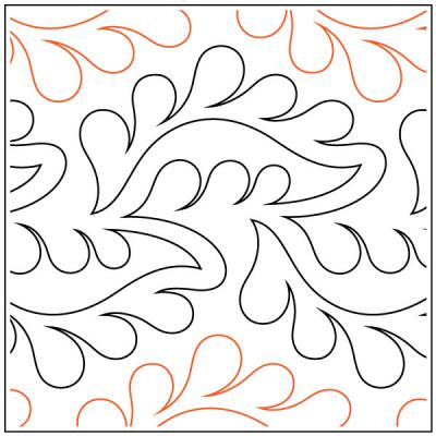 INVENTORY REDUCTION...Finer quilting pantograph sewing pattern by Lorien Quilting