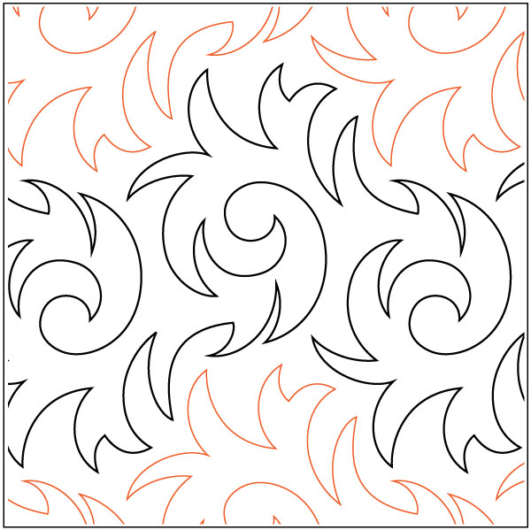 Axis quilting pantograph pattern by Lorien Quilting : lorien quilting - Adamdwight.com