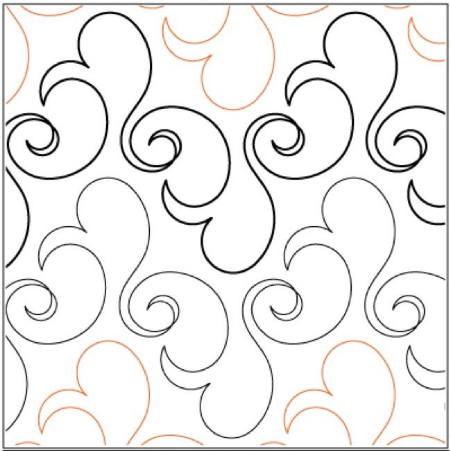 Bluster-quilting-pantograph-pattern-Lorien-Quilting