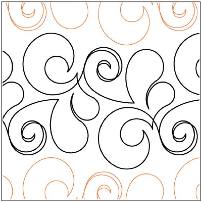 Exquisite Quilting Pantograph Pattern By Lorien Quilting